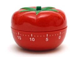 The pomodoro shown here as a decorative timer
