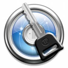 Here's the logo for 1password