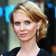 John Lahr reviewed Cynthia Nixon (pictured here)