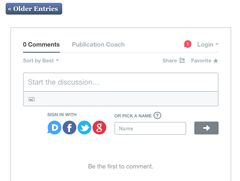 how to comment on my blog