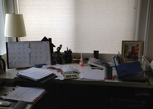 irritable desk syndrome