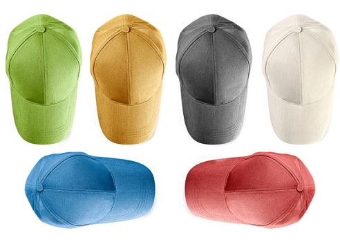 six writing hats