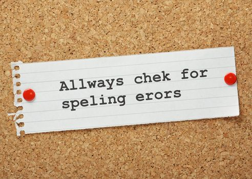 when you should ignore spelling