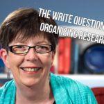 organize research