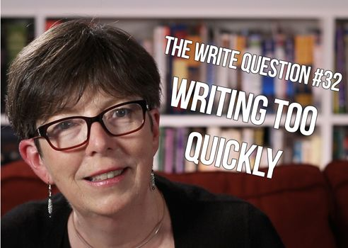 Am I writing too quickly [video]