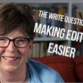making editing easier