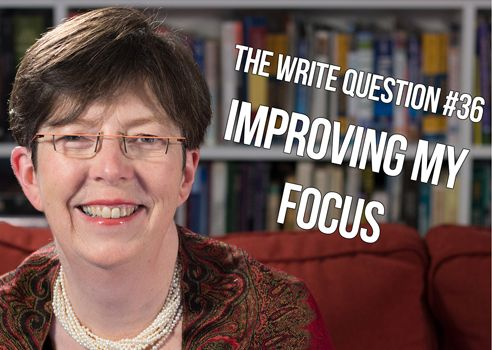 How can I improve my writing focus? [video]