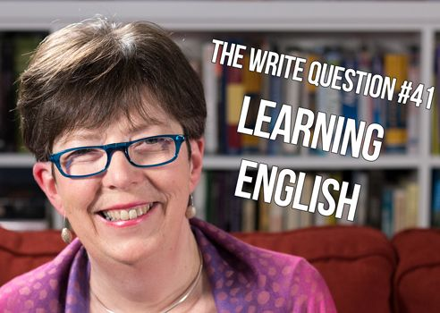 Why do I have so much difficulty writing in English? [video]