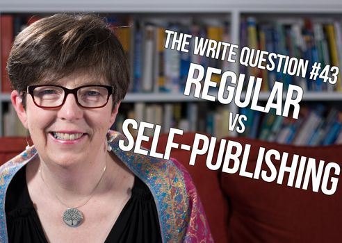 regular vs self-publishing