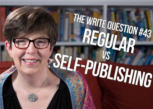 regular vs self-publishing