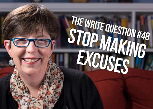 How can I stop making excuses? [video]