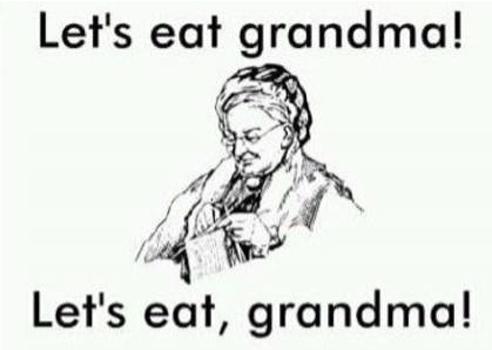 commas save lives