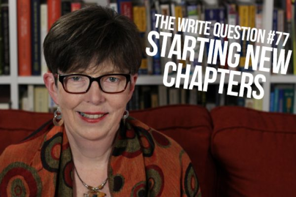 When to start a new chapter (video)