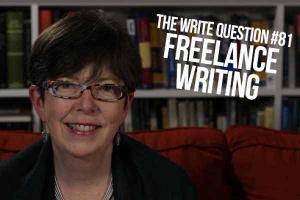 How can I become a freelance writer? (video)