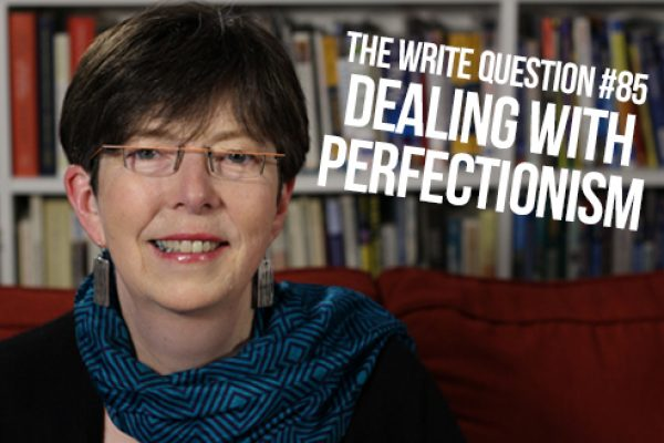 How can I deal with my perfectionism? (video)