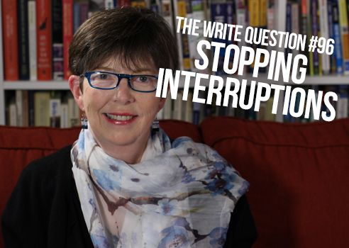 stop interruptions